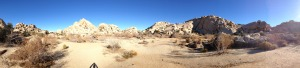 Barker Dam Trail Panoramic
